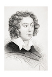 Henry Purcell, from 'Old England's Worthies' by Lord Brougham and Others, Published London, C.1880s Giclee Print