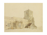 Writtle Church, Essex, C.1795 Giclee Print by Thomas Girtin