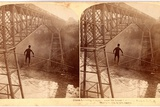 Stereoscopic View Dixon Crossing Niagara Below the Cantilever Bridge, Usa, Printed by Strohmeyer… Photographic Print by George Barker