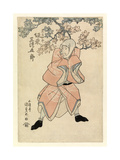 Actor Bando Mitsugoro III, in the Part of Tokoshiro or Possibly Dojishiro, C.1808-25 Giclee Print by Gototei Kunisada