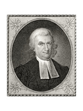 Dr John Witherspoon, Engraved by James Barton Longacre (1794-1869) Giclee Print by Charles Willson Peale