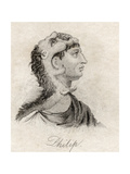 Philip II of Macedon, from 'Crabb's Historical Dictionary', Published 1825 Giclee Print