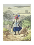 Milkwoman, Plate 10 from 'sketches of Character...', 1838 Giclee Print by Isaac Mendes Belisario