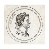 Servius Sulpicius Galba, from 'Crabb's Historical Dictionary', Published 1825 Giclee Print