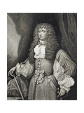 Frances Teresa Stewart, Duchess of Richmond and Lennox, Engraved by Rivers, from 'Iconographia… Giclee Print by Cornelius I Johnson
