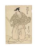 The Actor Sawamura Sojuro in the Role of Kudo Suketsuno, in the 'soga Brothers' Revenge', C.1804-17 Giclee Print by Utagawa Toyokuni