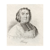 Andre-Hercule De Fleury, Bishop of Frejus, from 'Crabb's Historical Dictionary', Published 1825 Giclee Print
