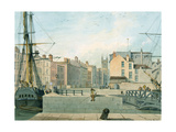View of Prince Street, Bristol, 1826 Giclee Print by Thomas Leeson the Elder Rowbotham