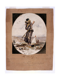 The Sentry, before Sebastopol, 1854 Giclee Print by Henry John Wilkinson