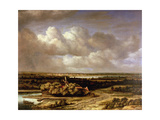 An Extensive Landscape with a Windmill, 1655 Giclee Print by Phillips de Koninck
