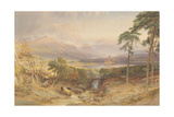Kilchurn Castle, Argyllshire, 1865 Giclee Print by William Leighton Leitch
