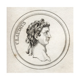Emperor Claudius, from 'Crabb's Historical Dictionary', Published 1825 Giclee Print