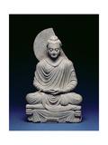 Seated Buddha, Gandhara, 1st-3rd Century Ad Giclee Print