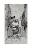 Exchange Alley Looking Toward Canal Street, New Orleans, from 'The Century Illustrated Monthly… Giclee Print