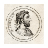 Marcus Aurelius, from 'Crabb's Historical Dictionary', Published 1825 Giclee Print