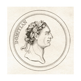 Emperor Domitian, from 'Crabb's Historical Dictionary', Published 1825 Giclee Print