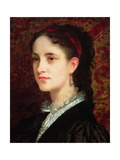 Portrait of a Young Woman Giclee Print by Gustave Jacquet