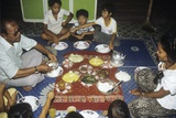 Malay Family Eating an Iftar Meal Following the End of the Day'S Fast During the Month of Ramadan Photographic Print