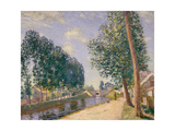 The Loing Canal at Moret, C.1892 Giclee Print by Alfred Sisley