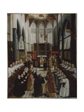 The Presentation of the Virgin in the Temple, C.1530-35 Giclee Print by Pieter Claeissens