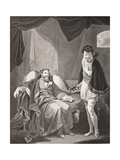 Henry IV Reproving Prince Henry, from 'Gallery of Historical Portraits', Published C.1880 Giclee Print