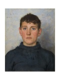Portrait of Jack Rolling, 1888 Giclee Print by Henry Scott Tuke