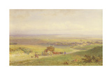 Pevensey Bay, Sussex, 1868 Giclee Print by Henry George Hine