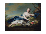 Portrait of Henriette De France, C.1742 Giclee Print by Jean-Marc Nattier
