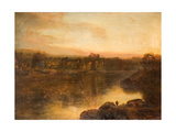 Chepstow Castle Giclee Print by Henry Mark Anthony