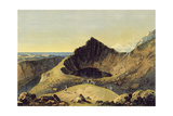 The Summit of Cader Idris Mountain, 1775 Giclee Print by Richard Wilson