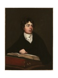 Portrait of Robert Southey, C.1804 Giclee Print by John James Masquerier