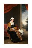 Portrait of Eleanor, Lady Wigram, 1815-16 Giclée-tryk af Thomas Lawrence