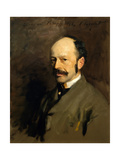 Portrait of Gustav Natorp, C.1883-84 Giclee Print by John Singer Sargent