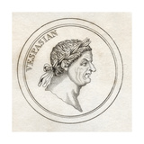 Vespasian, from 'Crabb's Historical Dictionary', Published 1825 Giclee Print
