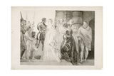 Othello, Act II, Scene I, Engraved by Thomas Ryder (1746-1810) 1803 Giclee Print by Thomas Stothard