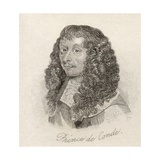 Louis II De Bourbon, Prince De Conde, from 'Crabb's Historical Dictionary', Published 1825 Giclee Print