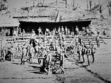 'G' Battery, 3rd Brigade with Nine-Pounder Muzzle-Loaders, Photographed at Peiwar Kotal Photographic Print