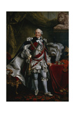 Ferdinand Duke of Brunswick-Lueneburg Attired as Knight of the Garter, C.1763 Giclee Print by Johann Georg Ziesenis