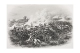 The Battle of Moodkee, 1845, Engraved by C.H. Jeens, from 'Gallery of Historical Portraits',… Giclee Print by Michael Angelo Hayes