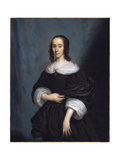 Portrait of a Lady, 1657 Giclee Print by Cornelius I Janssens van Ceulen