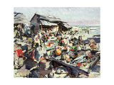 Market Giclee Print by Konstantin A. Korovin