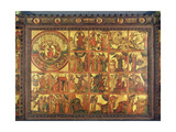 Altarpiece with 48 Scenes of the Apocalypse, C.1400 Giclee Print by  Master Bertram of Minden