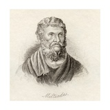 Miltiades the Younger, from 'Crabb's Historical Dictionary', Published 1825 Giclee Print