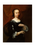 Portrait of a Lady, C.1665-70 Giclee Print by Jacob Esselens