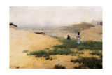Landscape with Figures Giclee Print by Ramon Casas i Carbo