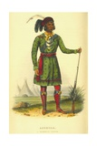Asseola, a Seminole Leader, 1870 Giclee Print by Thomas Loraine Mckenney