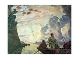 Stepan Razin Giclee Print by Boris Mikhailovich Kustodiev