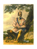 Red Jacket, Chief of the Senecas, 1853 Giclee Print by Captain Seth Eastman