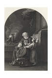 Samuel and Eli, Engraved by S. Allen, from 'The National Illustrated Family Bible', Published… Giclee Print by John Singleton Copley
