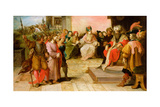 The Trial of Christ Giclee Print by Frans II the Younger Francken